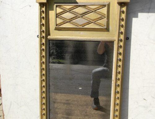 "Gilt Federal Mirror,44""t"