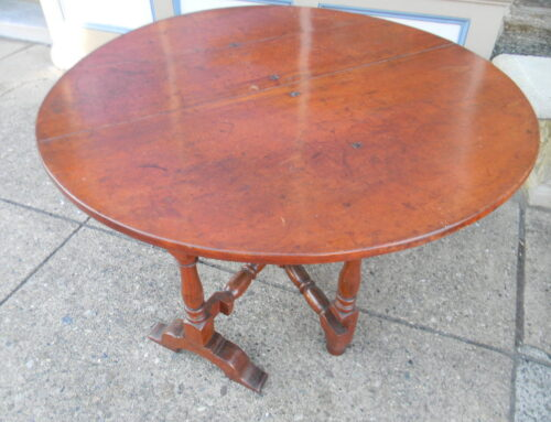 American Tuckaway Table, Circa 1740