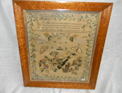 Needlework Sampler, American ,Ann Hayes