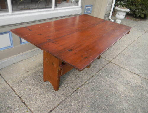 "Pine Bench Table ,66""x40"