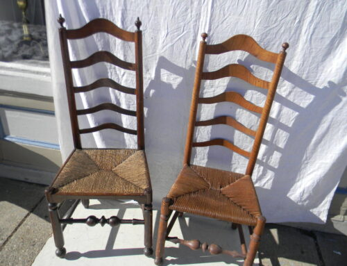 2 Delaware Valley Side Chairs Circa 1750