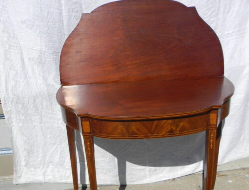 Card Table New England Circa 1810