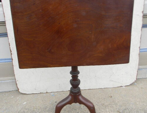 Mahogany Molded Edge Table Circa 1750