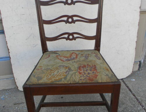 Mahogany Phila. Side Chair Circa 1800