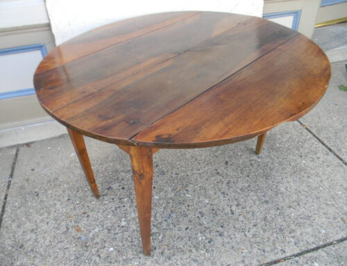 French Fruitwood Table, Circa 1800