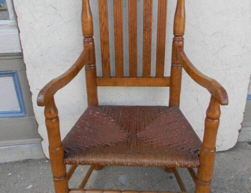 American Arm Chair Circa 1730