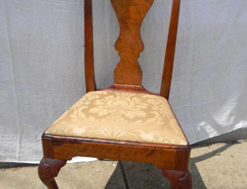 Chippendale Walnut Chair,3 shells,Phila. Circa 1770